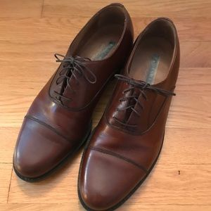 Florsheim Comfortech Brown Oxford Dress Shoes